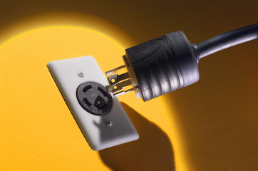 plug on yellow