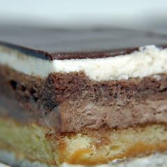 chocolate-cream cake