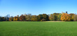 great lawn panoramic view, central park, new york