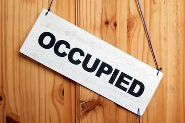 occupied room