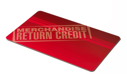 merchandise return credit
