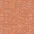 Leinwandbild Motiv red brick wall