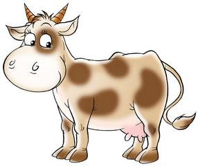 spotty cow