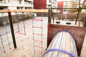 playground near apartments