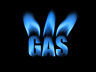 photo illustration of natural gas