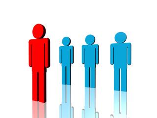 red leader of management