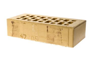 isolated brick