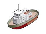 regular boat icon. design elements 41m poster