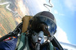 pilot bei der arbeit