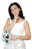 attractive lady thinking if it takes marriage poster