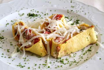 pasta, tomato, cheese