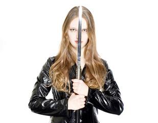 girl and sword