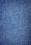close-up of denim cloth poster