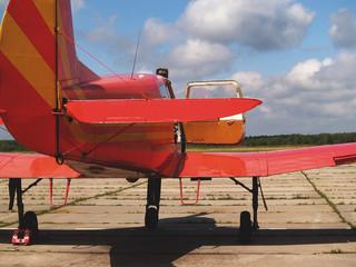 small training plane