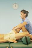 massage therapist at work poster