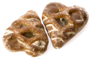 heart - shaped cookies