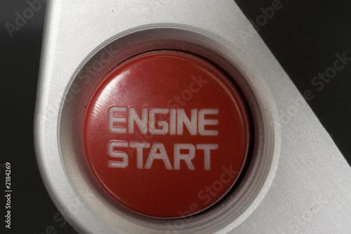 Leinwandbild Motiv button