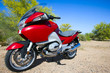 Leinwandbild Motiv motorcycle