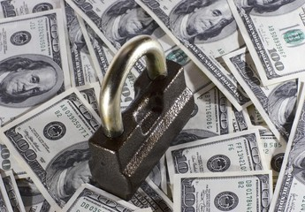 the lock and money