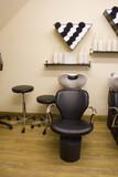 hair salon chair poster