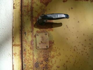 la vecchia porta blindata