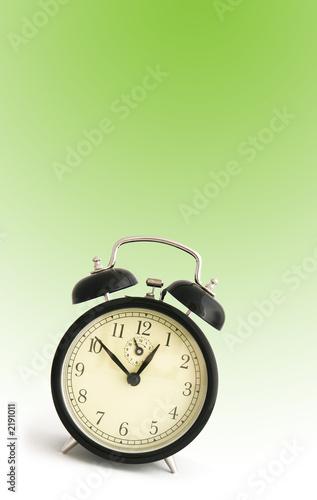 Leinwanddruck Bild time concept