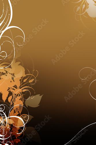 Leinwanddruck Bild background image floral