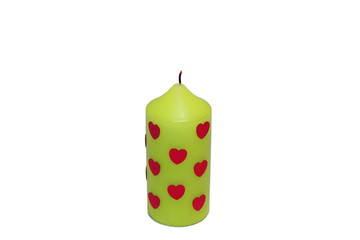 saint valentine's day candle