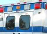 emergency ambulance. poster