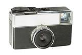 retro compact camera poster