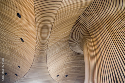 architectural details of welsh assembly building - 2196818