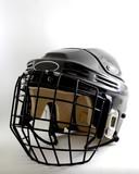hockey helmet poster