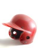 baseball helmet poster