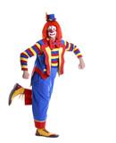 Fototapety dancing circus clown