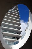 abstract view of a sobe highrise condo poster