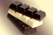 bitterschokolade und milchschokolade