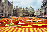 flower carpet in grande place