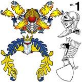 heraldic helmets vol.1 poster