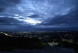 city panorama at night poster