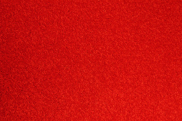 red carpet large area with high detail in fibers