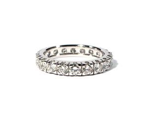 foto di fedina con diamanti - diamonds ring
