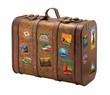 Leinwandbild Motiv old suitcase