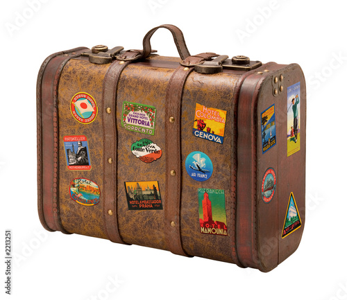 old suitcase - 2213251