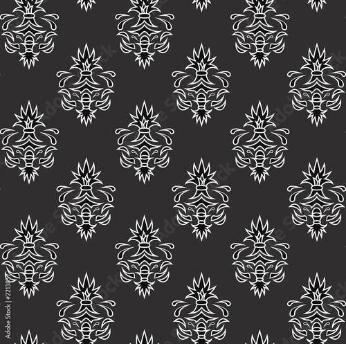 seamless retro wallpaper pattern