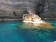 entrata della grotta, lampedusa