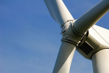 hélices et moteur éolienne