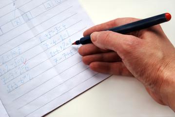 revising homework