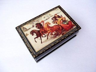 box in russian style
