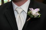 tux, shirt, tie, coat, jacket, flower, boutonniere poster