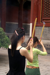 burn joss sticks